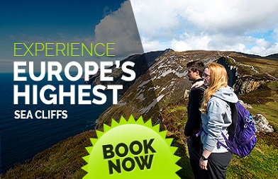 Experience Europe highest cliffs